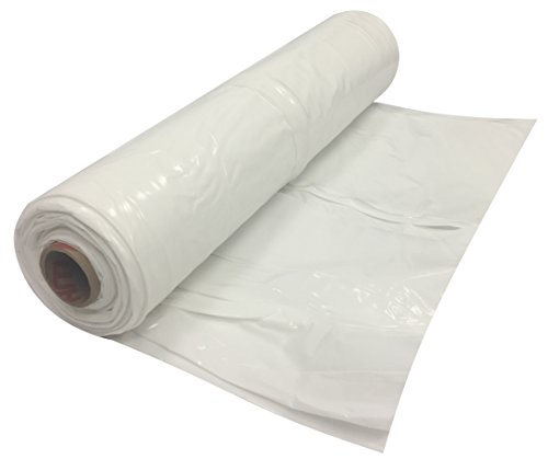 White Flame Retardant Poly Sheeting Roll 20' x 100' x 6 Mil by TheSafetyHouse (Sheeting 6 Poly Mil)