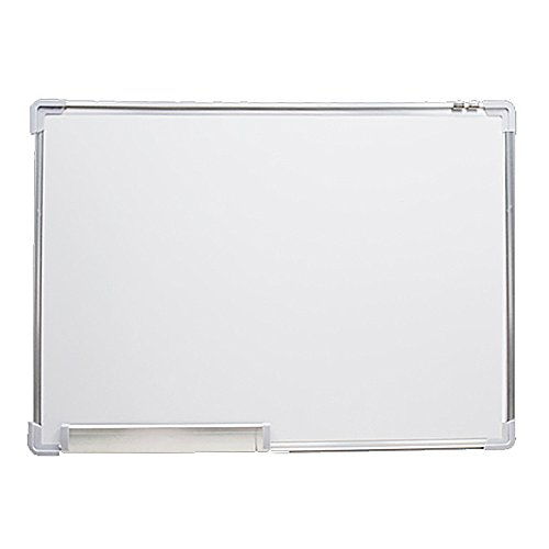 Dry Erase Board  Bestoff Magnetic White Hanging Board Magnetic Wordpad With Silver Aluminium Frame And Plastic Corner
