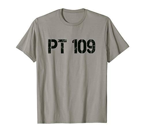 PT 109 tshirt distressed vintage style GIFT tee
