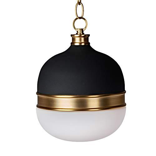 MOTINI 100W Pendant Lighting Globes Matte Black Modern Style Pendant Hanging Light Fixture for Kitchen Island, Dining…