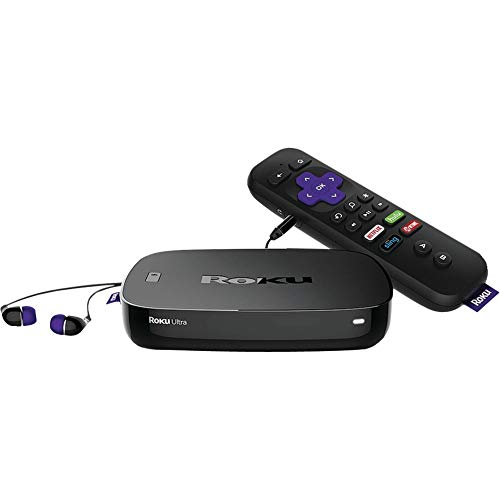 Roku Ultra | 4K UHD Streaming Media Player with HDR, Enhance