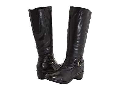 Clarks Wish Excite Womens Tall Boots Black 10