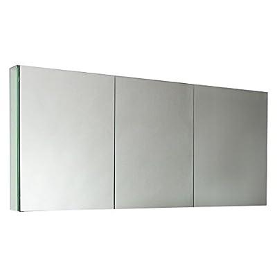 Fresca 60 in. Mirrored Medicine Cabinet