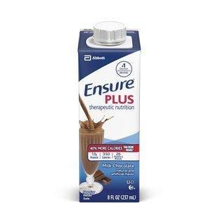 -  Ensure Plus Milk Chocolate Containers 24 X 8oz Case