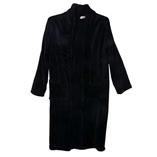 Schwarz Pigiama Accappatoio Unisex per Cotone Homewear Amicizia V Terry di Camicia Comodità Abbigliamento Waffle Taglie collo Tipo Uomo Accappatoio notte Mantello sauna da Donna xqCw5t8Bq