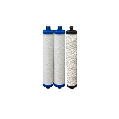 Hydrotech 41400008/41400009 Replacement Reverse Osmosis Water Filter Cartridge Set
