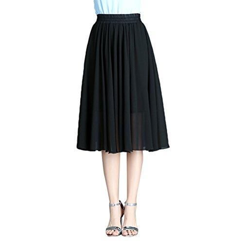 Taille Boho Femme Style1 imprim Beach CHENYANG lastique Jupe Casual Floral Robe Dt Plage qftgxx0Zw