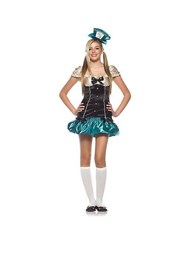 Tea Party Hostess Teen/Junior Costume - Teen Small/Medium - Teen Tea Party Hostess Costumes