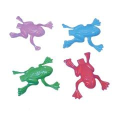 Jumping Plastic Frogs - 144 Pack (Jumping Frogs)