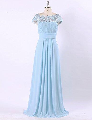 Soirée Robe pretty Bleu Ever Clair De Empire Taille Dentelle Femme Ep09993 CZwwq0xSO