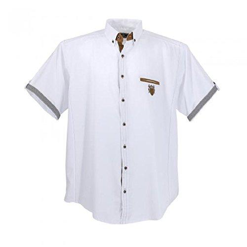 Lavecchia 1128 Übergröße Herren Kurzarm Hemd Snow-White Gr. 3-7 XL