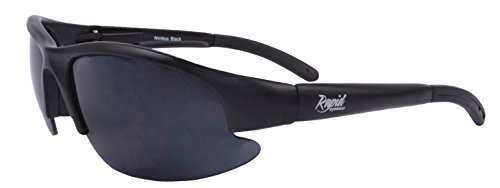 Rapid Eyewear Nimbus DARK CATEGORY 4 SUNGLASSES for Extreme Sun Conditions and Sensitive Eyes (Photophobia). Glasses for Men and ()