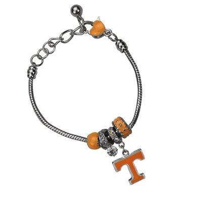Tennessee Volunteers MVP Charm Bracelet (Tennessee Volunteers Charm)