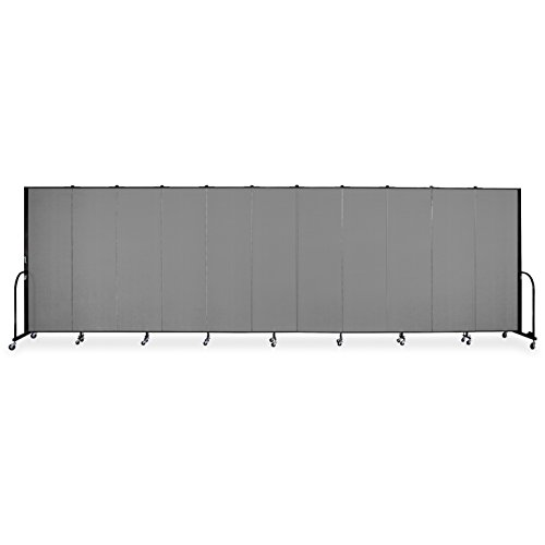 11 Panel Freestanding Partition (Screenflex Portable Room Dividers)