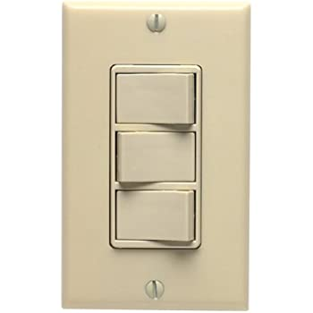 air king aks3 rocker style 3 function switch white night lights leviton 831 1755 i triple rocker switch