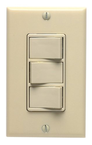 leviton 831 1755 i triple rocker switch wall light switches rh amazon com