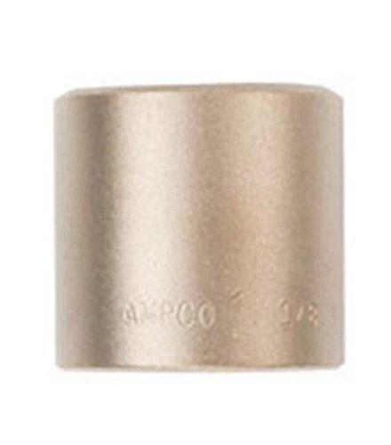 Ampco安全ツールSS 1 / 2d1 – 1 / 16ソケット、標準、ノンスパーキングアルミニウム、非磁性、耐腐食性、1 / 2