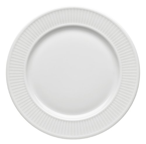 Pillivuyt Plisse 12-1/4-Inch Plate -  214231BL