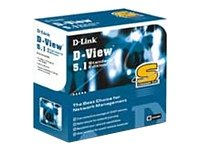 D-Link DS-510S SNMP Network MGMT System D-View 5.1, Standard Version