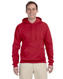 Jerzees 8 oz. NuBlend 50/50 Pullover Hood, True Red - Medium