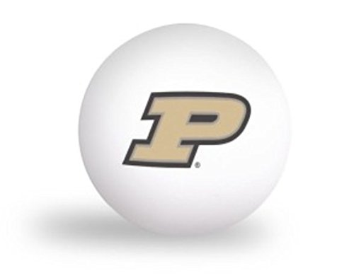 NCAA Purdue University Boilermakers 6 pack Ping Pong Balls