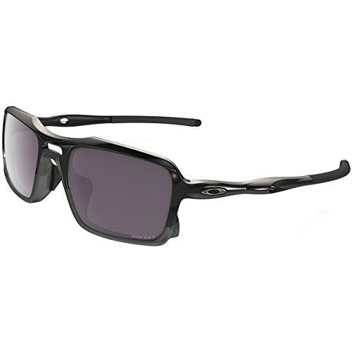 - Oakley Men's (a) Triggerman OO9314-06 Polarized Iridium Rectangular Sunglasses, Polished Black, 58.5 mm