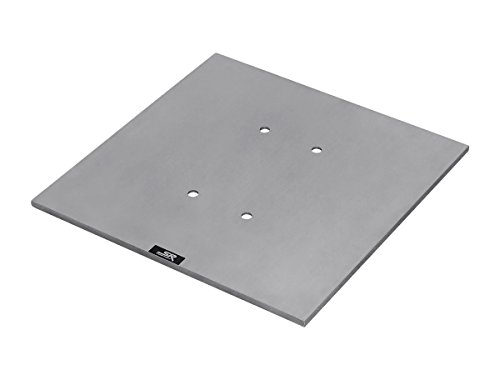 Stage Right 8in x 8in Lite Duty Box Truss Base Plate with Hardware by Stage Right