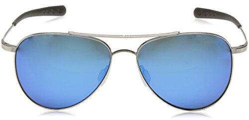 Costa del Mar Cook Polarized Iridium Aviator Sunglasses, Brushed Palladium, 59.7 mm by Costa Del Mar (Image #2)'