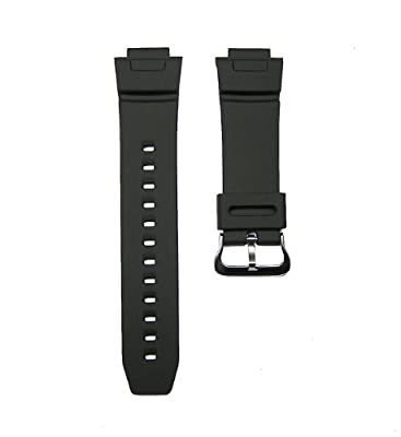 16mm Replacement Black Watch Band Strap fits Casio G Shock G-2500 –1V G2500 DW-9052 & More