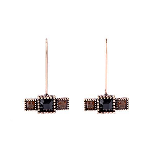 Price comparison product image Modern Elegant Dangle Stud Earrings Trendy Acrylic Resin Geometric Insect Heart Ear Drop Hoops Earrings Women Jewelry