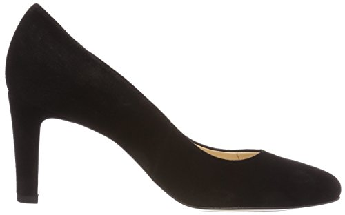 Heels 10 0100 Women's Black 5 Closed 6502 0100 Schwarz Toe HÖGL R0qgf