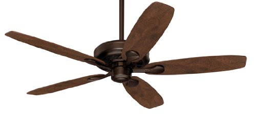 Hunter 21201 Anaheim 54-Inch 5-Blade Ceiling Fan, Onyx Bengal with Rustic Lodge/Cabin Home Blades, Appliances for Home