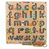 MFM TOYS Magnetic Tracing Fun! - English Alphabets Lowercase