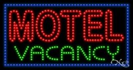 - Motel Vacancy LED Sign (High Impact, Energy Efficient)