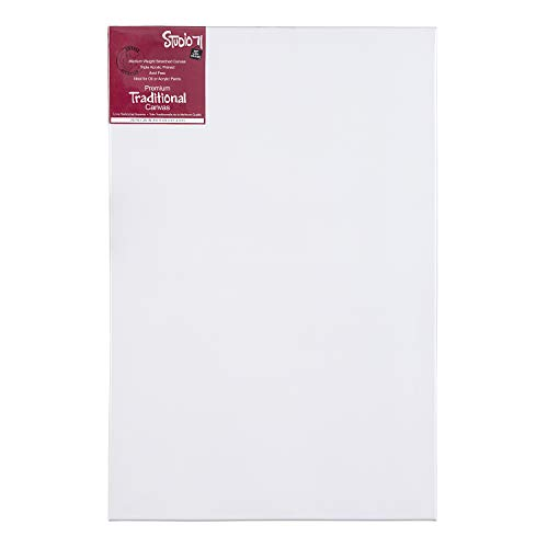 Darice Studio 71 Medium Weight Traditional Stretched Canvas - 24