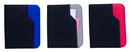 GOODHOPE Bags G8130 Universal E-Reader Tablet iPad Zip Around Padfolio, Grey
