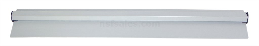 New Star 23923 Anodized Aluminum Slide Check Rack, 36-Inch, Silver