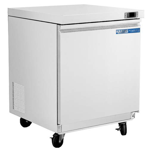 Kratos Refrigeration 69K-766 29″W Undercounter Freezer, 1 Door