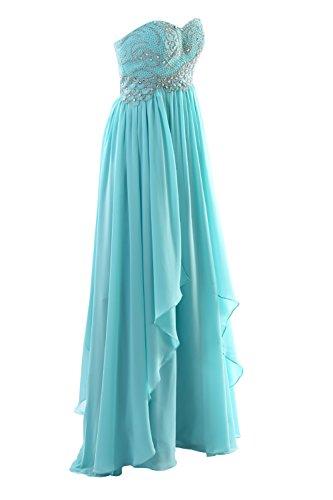 YiYaDawn - Vestido - trapecio - para mujer borgoña