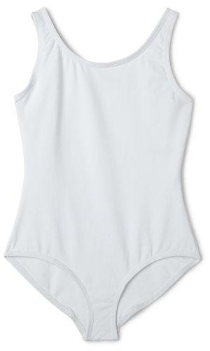 Capezio Tank Leotard - Girls - Size Child Large, White ()