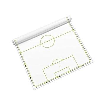 Taktifol Fútbol - hojas tácticas para entrenadores - rollo con 25 hojas
