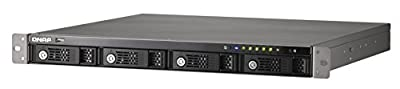 QNAP TS-459U-RP 4-Bay rack-mount high performance NAS with iSCSI and redundant power for business users from QNAP