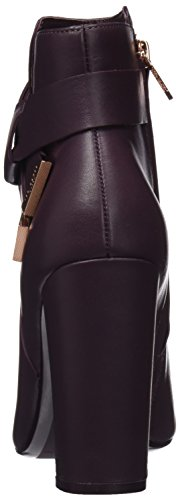 Ted Baker Remadi, Stivaletti Donna Marrone (Burgundy)