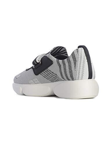 Femme Polyester Baskets Argent 1e651ifd0403kk7f0a0n Prada f6Cdnqwf