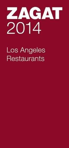 2014 Los Angeles Restaurants Zagat product image
