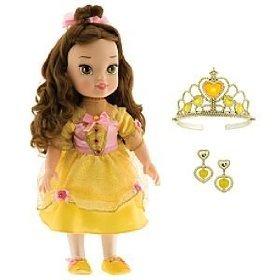 Amazon Com Disney Princess Little Belle Toddler Doll Toys