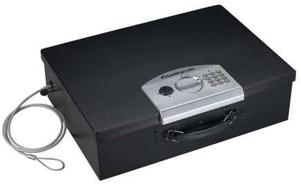 Portable Electronic Lock Laptop Safe 0.5 Cu. Ft.