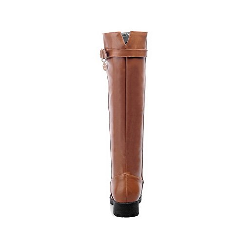 BalaMasaAbl10252 - A Collo Basso donna, Marrone (Brown), 35 EU