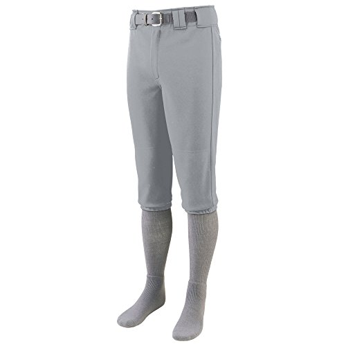 - Augusta Sportswear Men's Series Knee Length Baseball Pant S Silver Grey