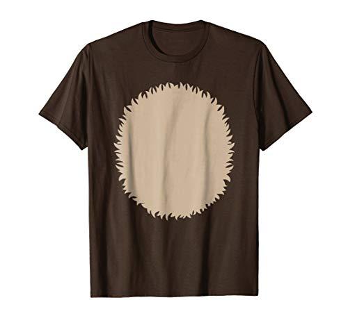 Reindeer Belly Animal Fur DIY Kids Halloween Costume Shirt